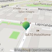Kartta Helsingin kaupunki Ressun peruskoulu Helsinki, Suomi