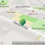Kartta Helsingin kaupunki Kallion ala-aste Helsinki, Suomi
