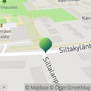 Kartta Helsingin kaupunki Siltamäen ala-aste Helsinki, Suomi