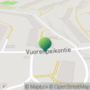 Kartta Helsingin kaupunki Roihuvuoren ala-aste Helsinki, Suomi