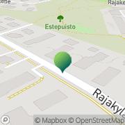 Kartta LinguaParlor Vantaa, Suomi