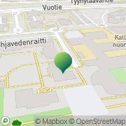 Kartta Helsingin kaupunki Mustakiven ala-aste Helsinki, Suomi