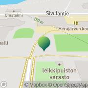 Kartta Saarijärven kaupunki Herajärven koulu Saarijärvi, Suomi