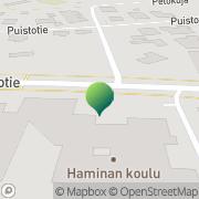 Kartta Iin kunta Haminan koulu Ii, Suomi