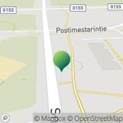 Kartta Oulun kaupunki Mäntylän koulu Oulu, Suomi