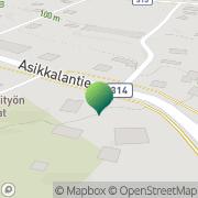 Kartta Asikkalan kunta vääksyn koulu Vehko, Suomi