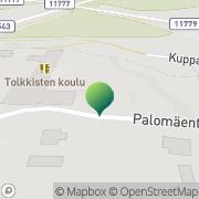 Kartta Porvoon kaupunki Tolkkisten koulu Tolkkinen, Suomi