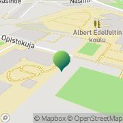 Kartta Porvoon kaupunki Tullliportin koulu Porvoo, Suomi