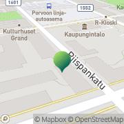 Kartta Porvoon kaupunki Linnankosken lukion aikuislinja Porvoo, Suomi