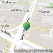 Kartta Lahden kaupunki Perusopetus- ja lukiokoulutuspalvelut Lahti, Suomi