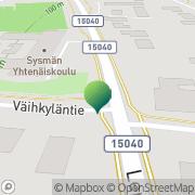 Kartta Sysmän kunta Toivolan koulu Sysmä, Suomi