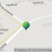 Kartta Rovaniemen kaupunki Viirinkankaan koulu Rovaniemi, Suomi