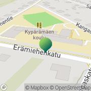 Kartta Jyväskylän kaupunki Kypärämäen koulu Kypärämäki, Suomi