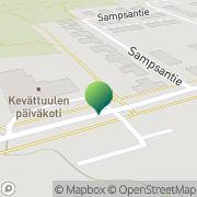 Kartta Porvoon kaupunki Vårberga skola Porvoo, Suomi