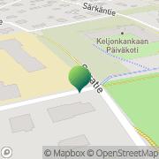 Kartta Jyväskylän kaupunki Keljonkankaan koulu Keljo, Suomi