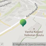 Kartta Jyväskylän kaupunki Keljon koulu Jyväskylä, Suomi