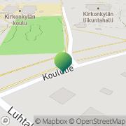 Kartta Heinolan kaupunki Kirkonkylän koulu Heinolan Maalaiskunta, Suomi