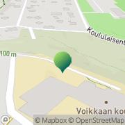 Kartta Kouvolan kaupunki Voikkaan koulu Kouvola, Suomi