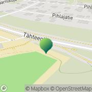 Kartta Kouvolan kaupunki Tähteenkadun koulu Kuusankoski, Suomi