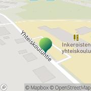 Kartta Kouvolan kaupunki Inkeroisten yhteiskoulu Kouvola, Suomi