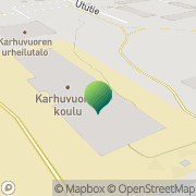 Kartta Kotkan kaupunki Karhuvuoren koulu Kotka, Suomi
