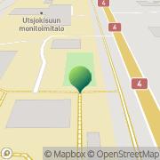 Kartta Utsjoen kunta Utsjokisuun koulu Utsjoki, Suomi