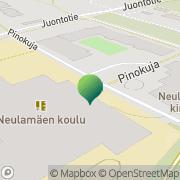 Kartta Kuopion kaupunki Neulamäen koulu Kuopio, Suomi