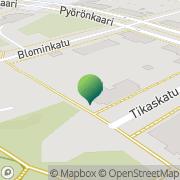 Kartta Kuopion kaupunki Pyörön koulu Kuopio, Suomi
