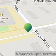 Kartta Kuopion kaupunki Puijonsarven koulu Kuopio, Suomi
