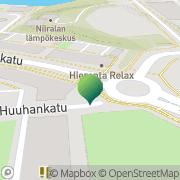 Kartta Kuopion kaupunki Niiralan koulu Kuopio, Suomi