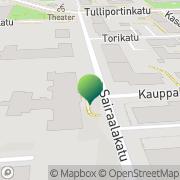 Kartta Savonia ammattikorkeakoulu Kuopio, Suomi