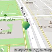 Kartta Kuopion Kansalaisopisto Kuopio, Suomi