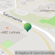 Kartta Kajaanin kaupunki Lohtajan koulu Kajaani, Suomi