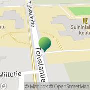 Kartta Siilinjärven kunta Suininlahden koulu Toivala, Suomi