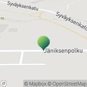 Kartta Suomussalmen kunta Taivalalasen koulu Suomussalmi, Suomi