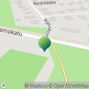 Kartta Joensuun kaupunki Kanervalan koulu Joensuu, Suomi