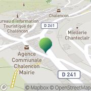 Carte de Ecole Primaire Chalencon, France