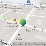 Carte de Ecoles Publiques Lyon, France