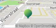 Kaart PCBO Noordwest Friesland Franeker, Nederland