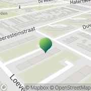 Kaart Instituut Geelen Nijmegen, Nederland