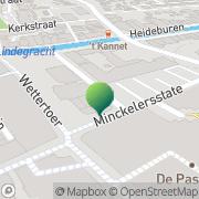 Kaart NHI Studiebegeleiding BV Heerenveen, Nederland
