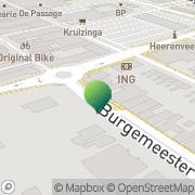 Kaart Technopark Educatie Heerenveen, Nederland