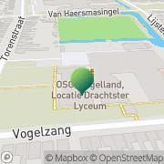 Kaart NHI Studiebegeleiding BV Drachten, Nederland