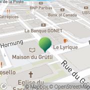 Carte de Bibliothèque Genève, Suisse