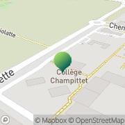 Carte de Collège Champittet - Nyon Nyon, Suisse