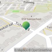 Kaart Enschedese Schoolvereniging Neutraal Ond Enschede, Nederland
