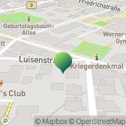 Karte Volkshochschule Weinheim, Deutschland