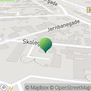 Kort Grindsted Privatskole Grindsted, Danmark