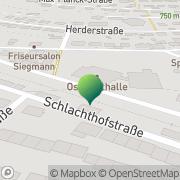Karte Oststadtschule Albstadt, Deutschland