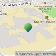 Karte Kopernikusschule Freigericht Altenmittlau, Deutschland
